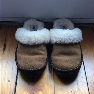 UGG slippers, barely ever been worn.